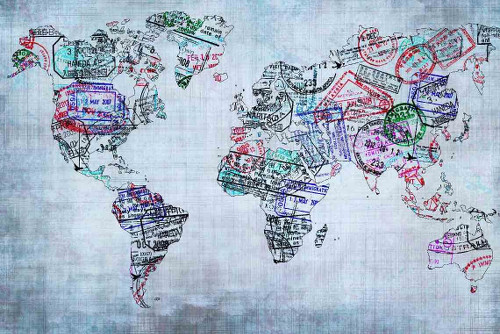 map-small with stamps